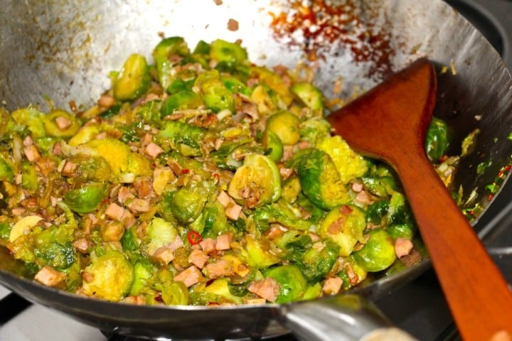 Asian Sprouts with Bacon