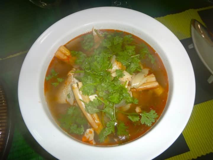 Tom Yam Fish Head Soup