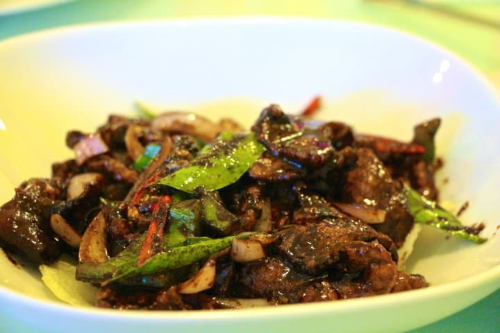 Siamese Cat's Black Pepper Beef - it's a real good one, and worth a visit...