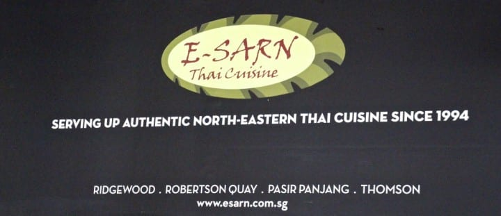 Again focusing at North, but this time Thai food from North Eastern Thailand
