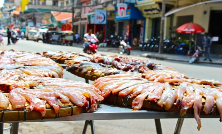 Cambodia, of markets and insects