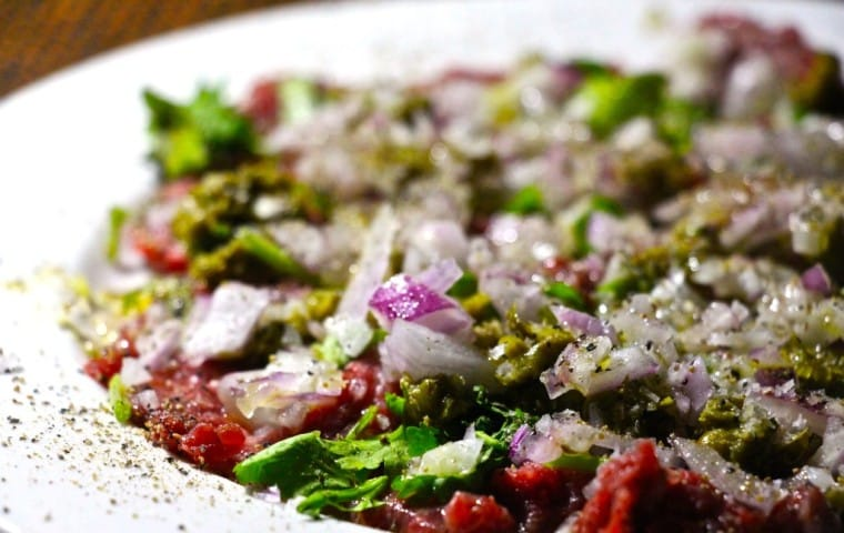 Asian Beef Carpaccio