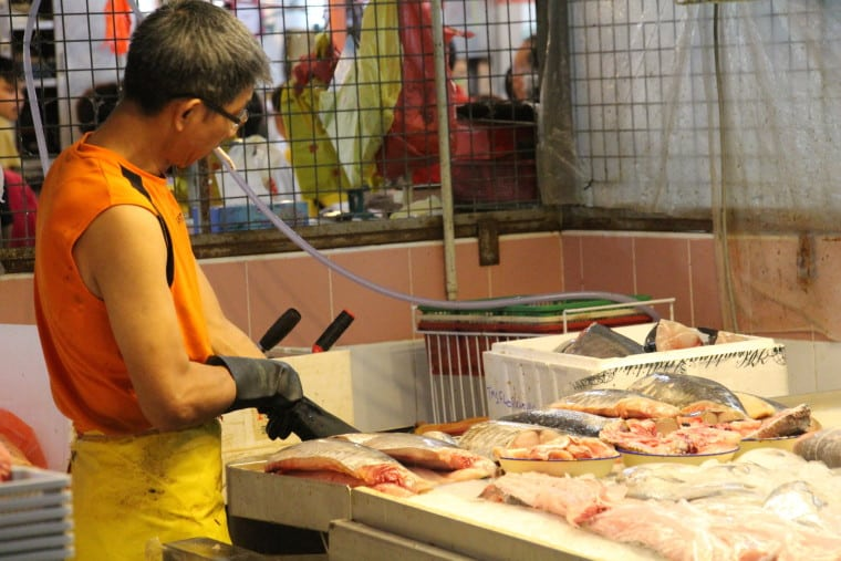 Memoirs of wet markets and The Semi-Naked Chef