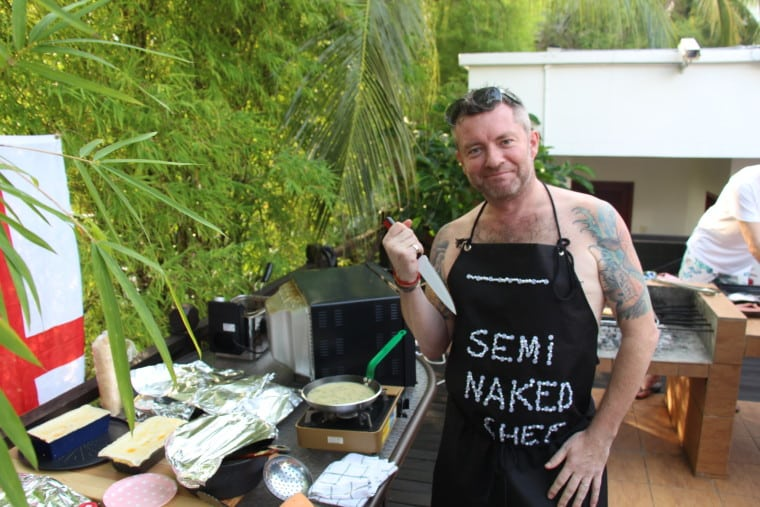 Check this out - The Semi-Naked Chef @ Pie n Mash with Mr C