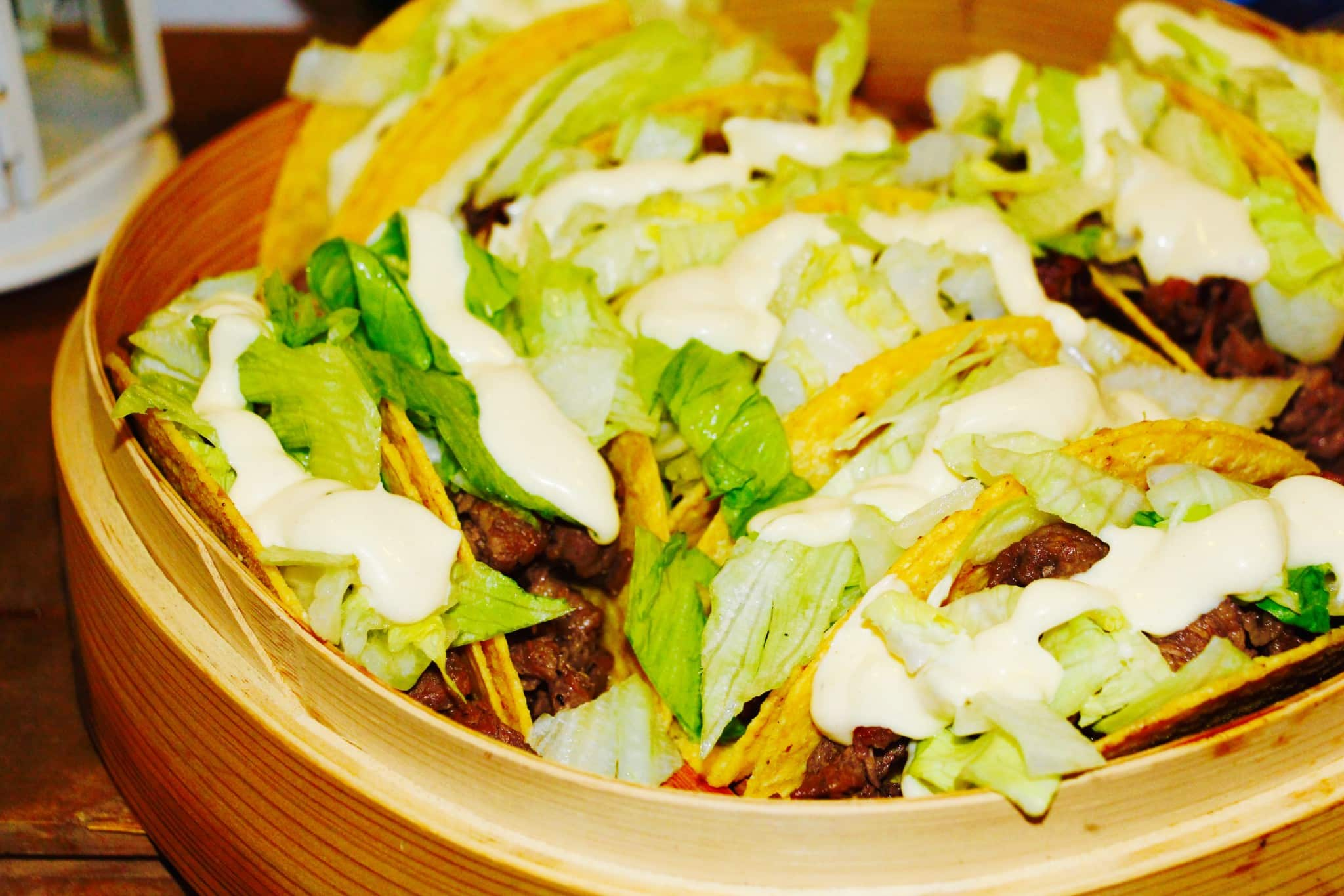 Asian Beef Tacos