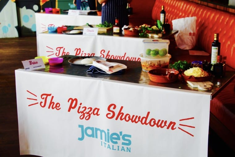 The Pizza Showdown @ Jamie's Italian
