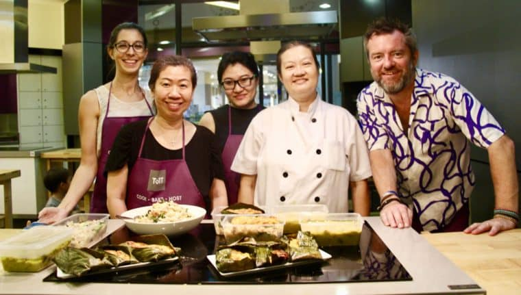 Cooking Class @ TOTT, with Chef Julie Yee