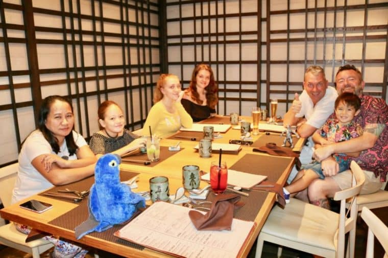 Fat Cow, Japanese Restaurant for Father's Day