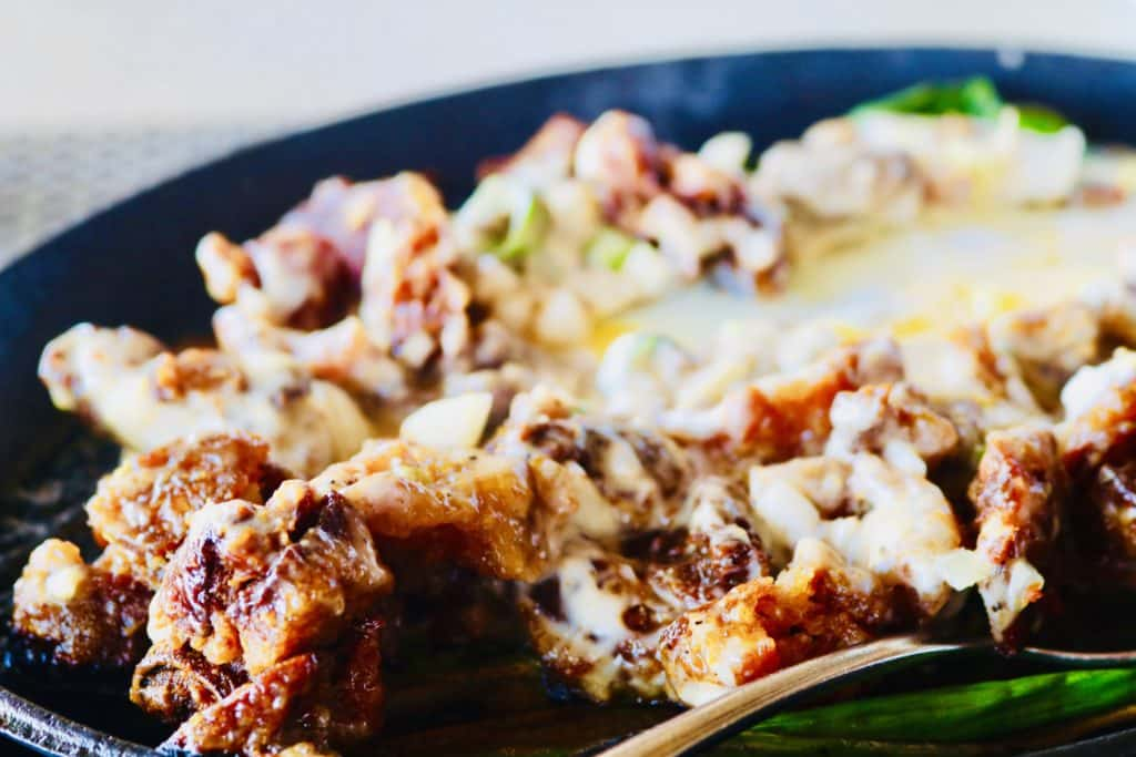 Sisig, the multi-personality Filipino dish