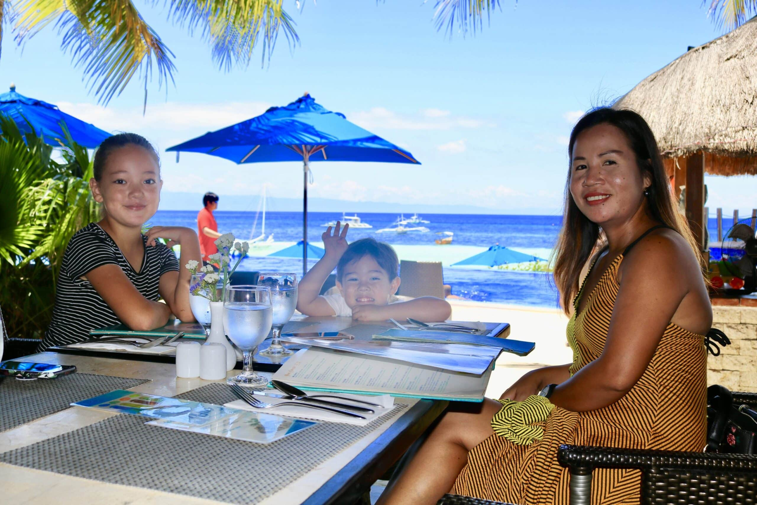 Lunch @ The Bellevue Resort, Panglao Island, The Philippines