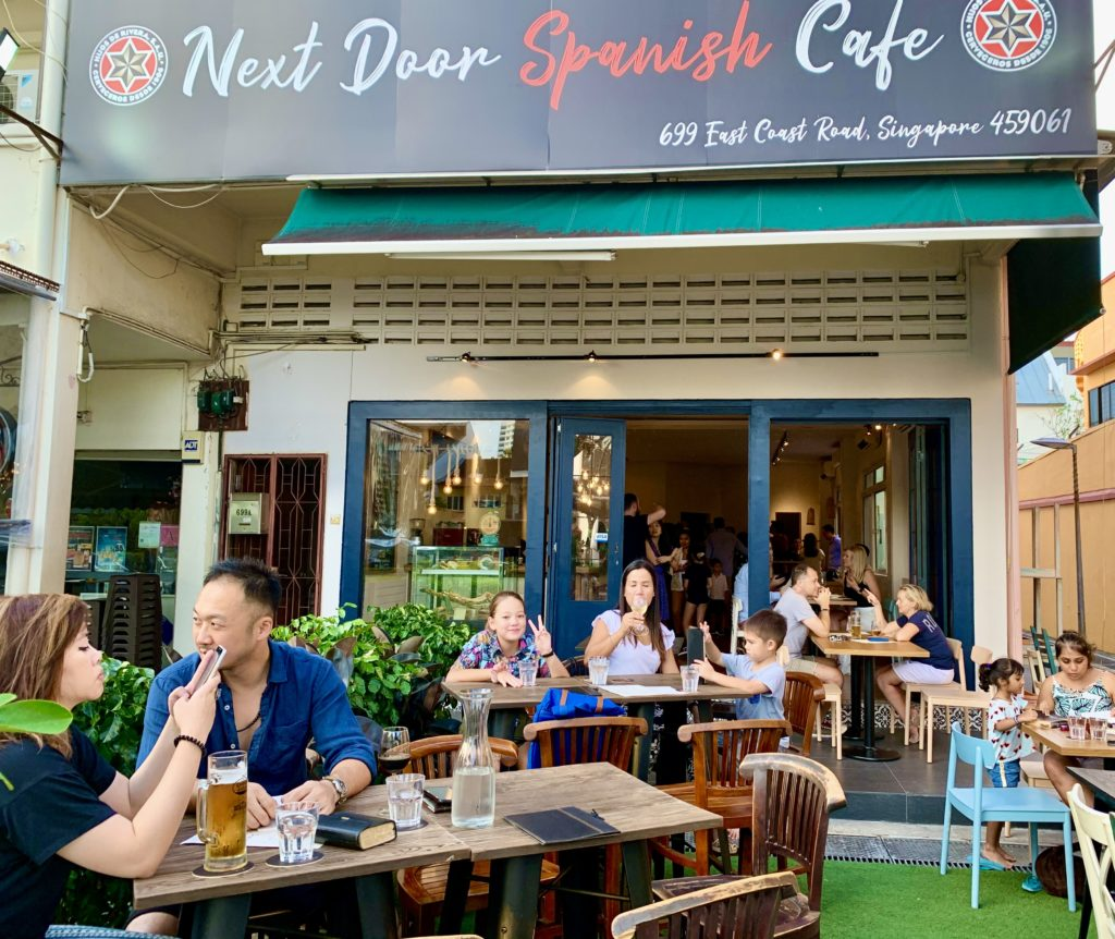 Next Door Spanish Cafe @ Siglap