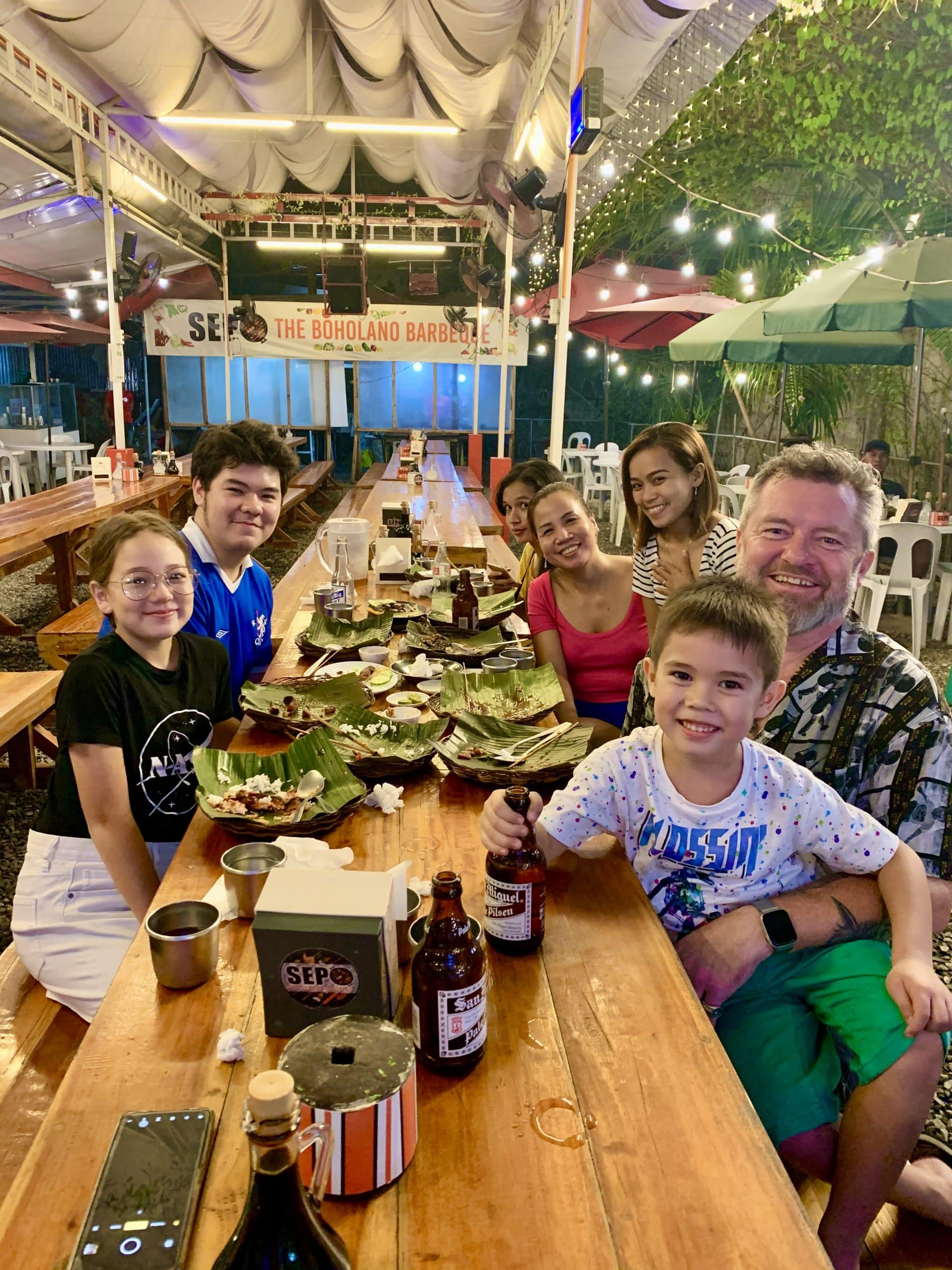 Day 2, 3, 4 & 5 in Bohol - eating our way through the island