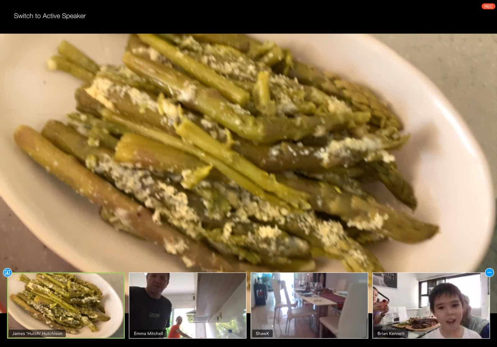 ChillaxBBQ cooking lesson via Zoom for Toma Roast Lunch