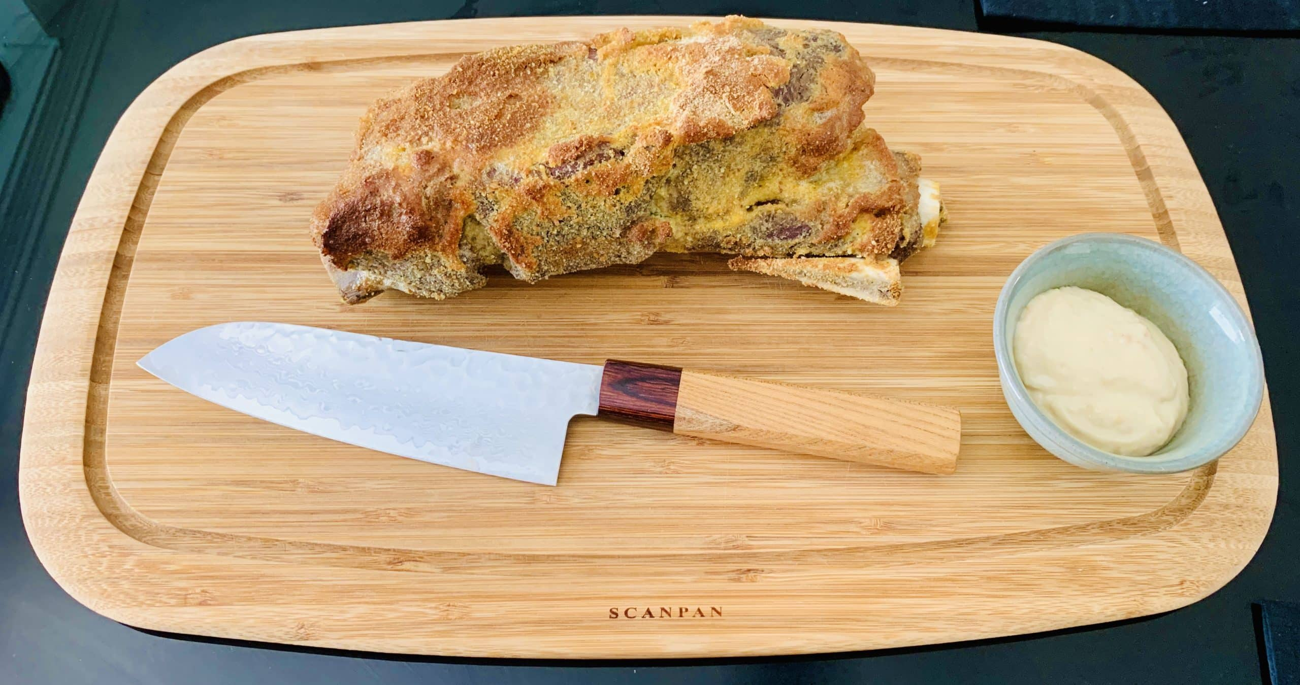 ChillaxBBQ Stay@Home Recipes #32 - Brined, Breaded & Baked Beef Rib