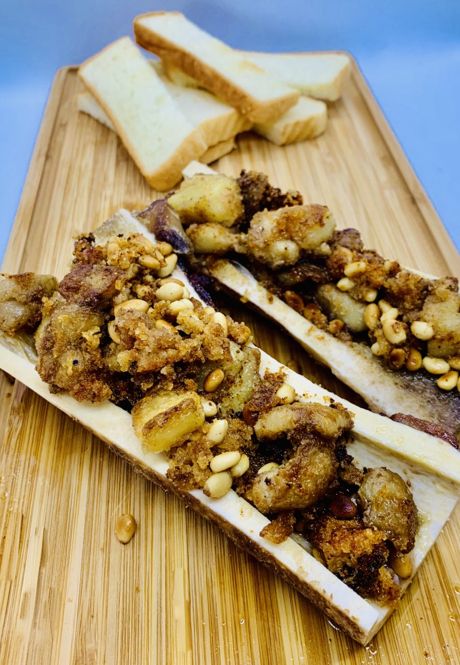 ChillaxBBQ Stay@Home Recipes #43 - Pan-Fried Bone Marrow