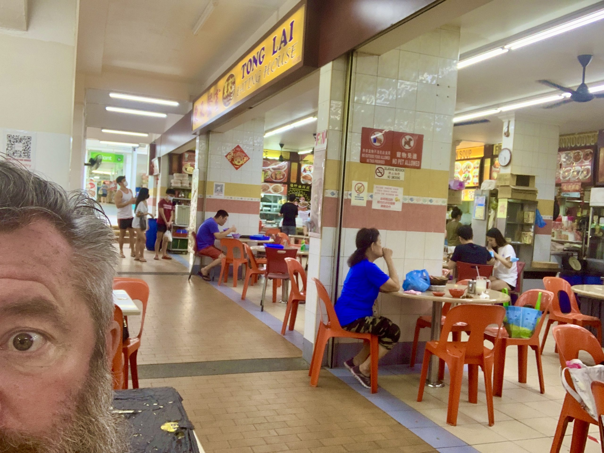 Savoury Pancakes in a Hawker
