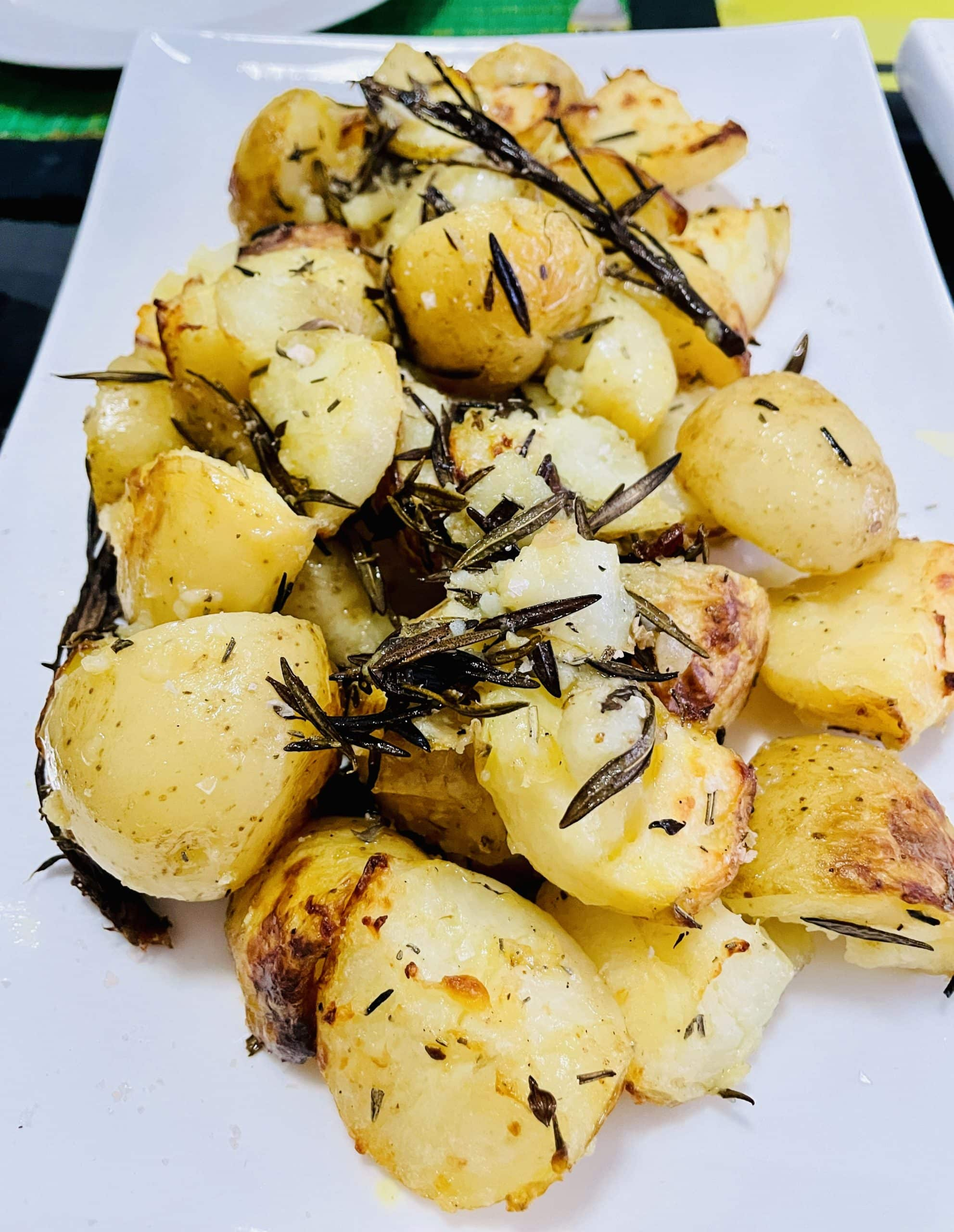 Black Truffle Cream Dorey 'w' Roasted Spuds & Lamb